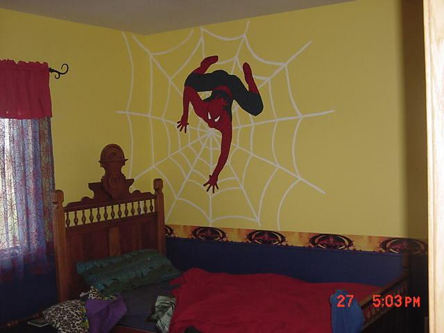 Ramseys Spiderman Bedroom